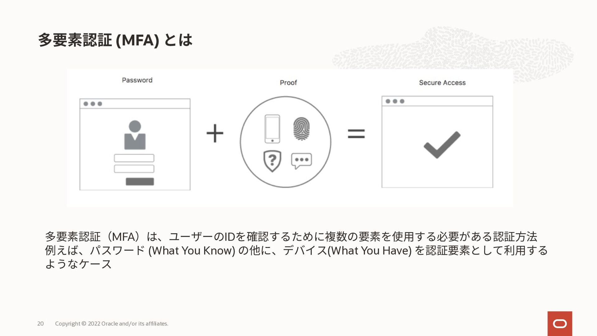CLIでのトークンベースの認証 Copyright © 2021 Oracle and/or ...
