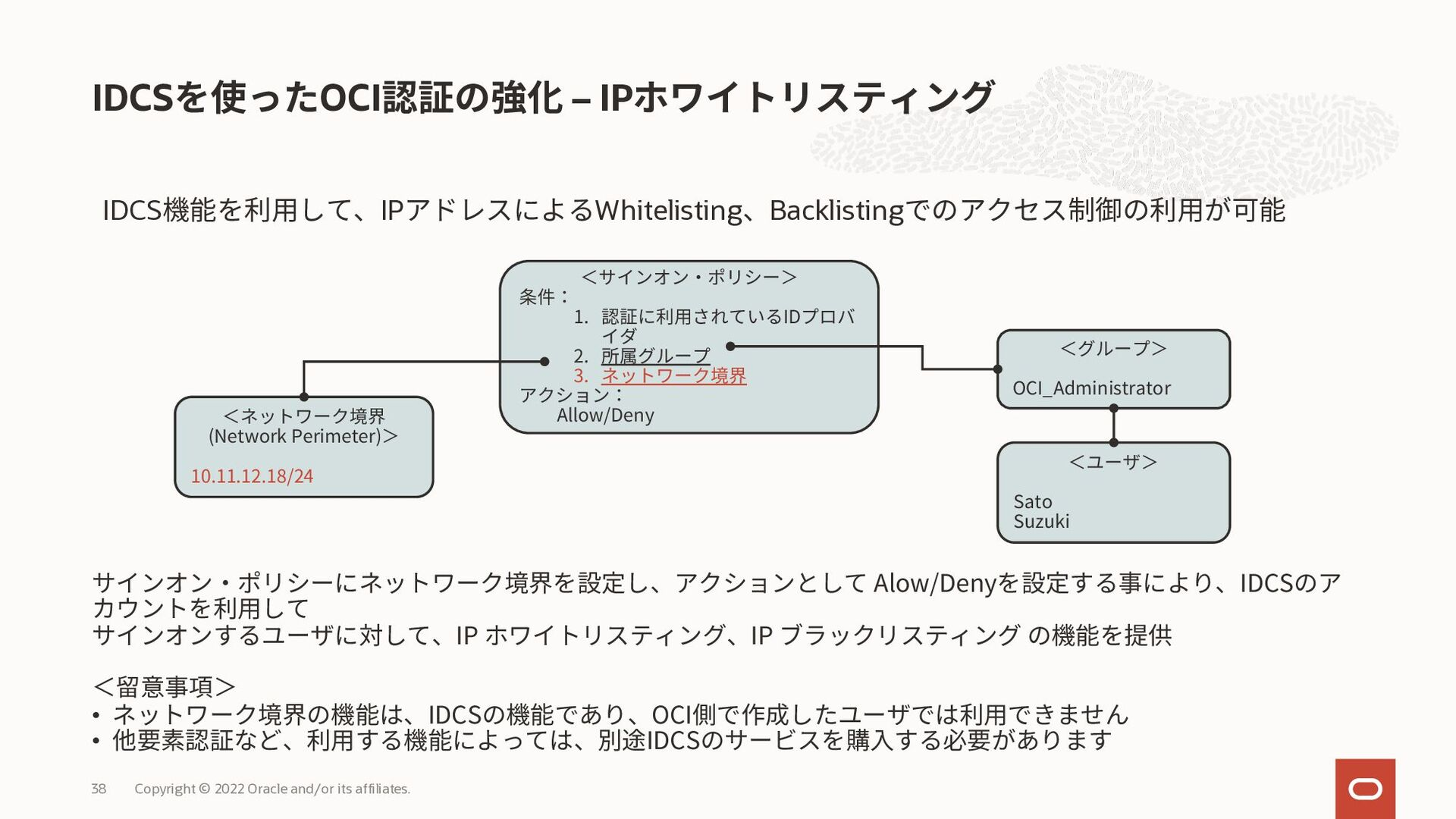 • 管理画面で有効化すれば設定が完了 • モバイル・アプリケーションの設定は、ユーザーがQRコ...