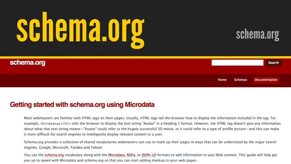 / @hpoom schema.org schema.org