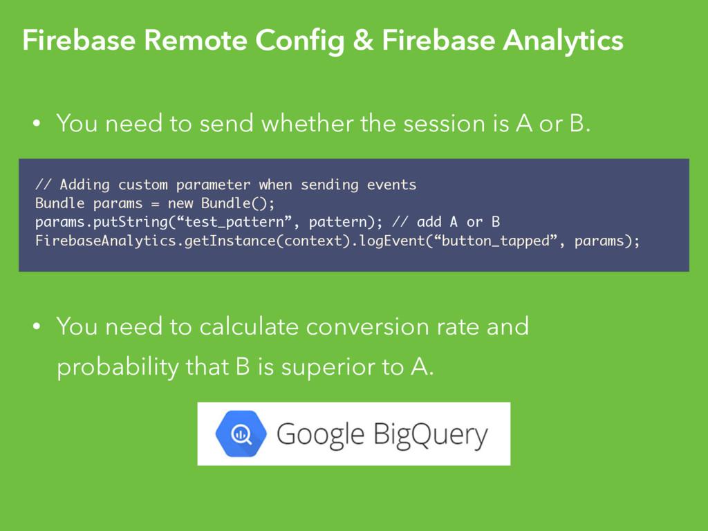 Firebase Remote Config & Firebase Analytics • Yo...