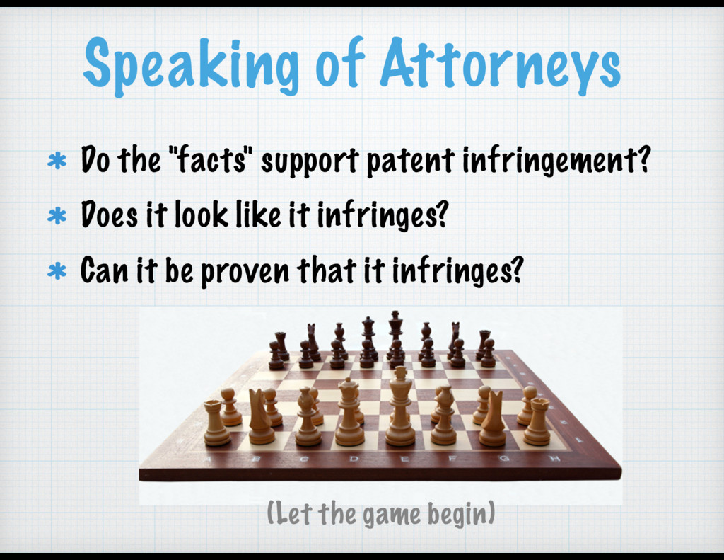 """Speaking of Attorneys Do the """"facts"""" support pa..."""