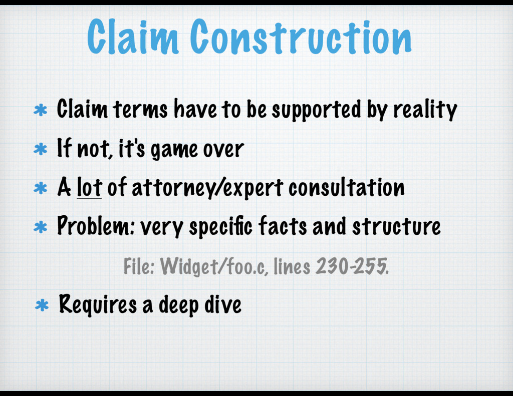 Claim Construction Claim terms have to be suppo...