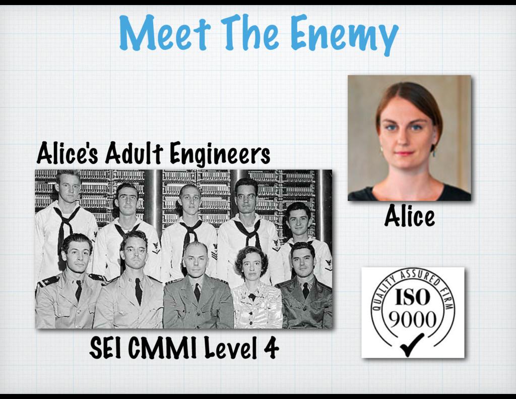 Meet The Enemy Alice Alice's Adult Engineers SE...