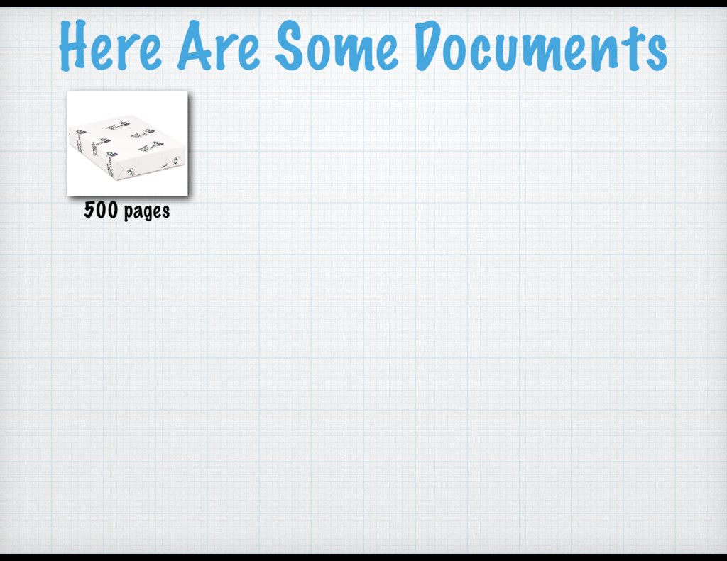 Here Are Some Documents 500 pages
