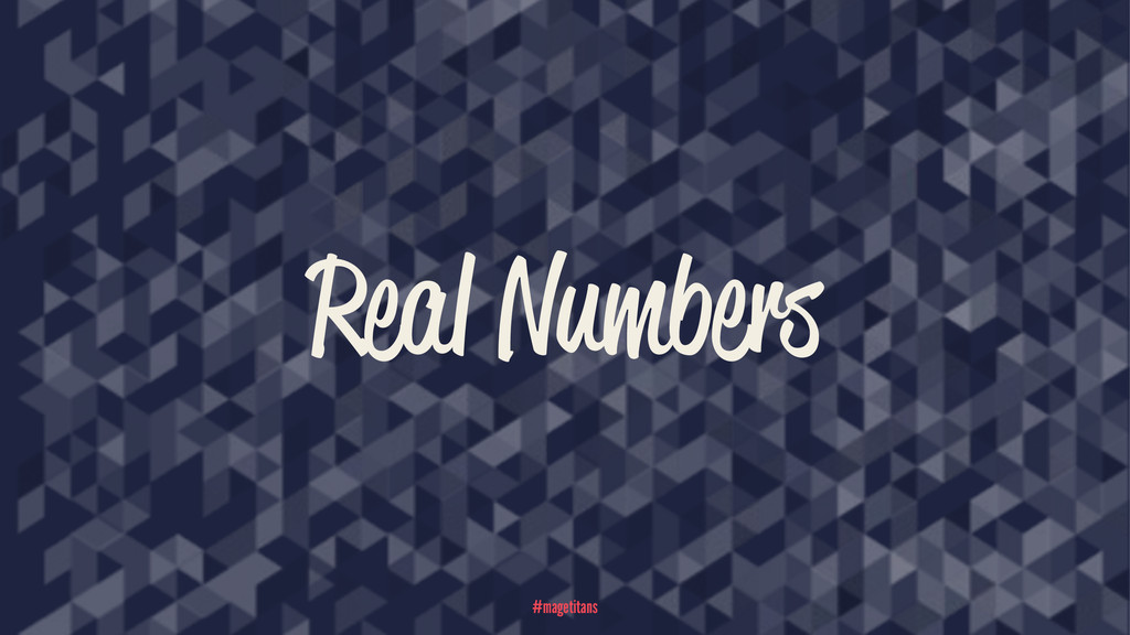 Real Numbers #magetitans