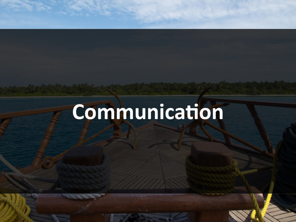 CommunicaBon