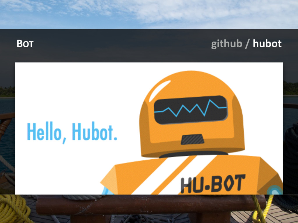 BOT github / hubot