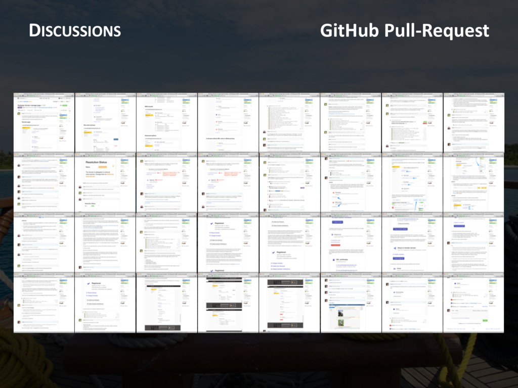DISCUSSIONS GitHub Pull-Request