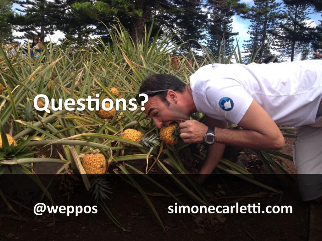 QuesBons? @weppos simonecarle^.com