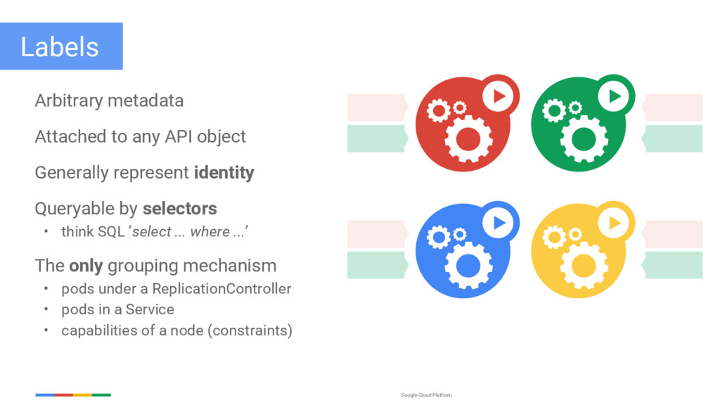 Google Cloud Platform Arbitrary metadata Attach...