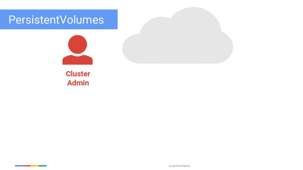 Google Cloud Platform PersistentVolumes Cluster...
