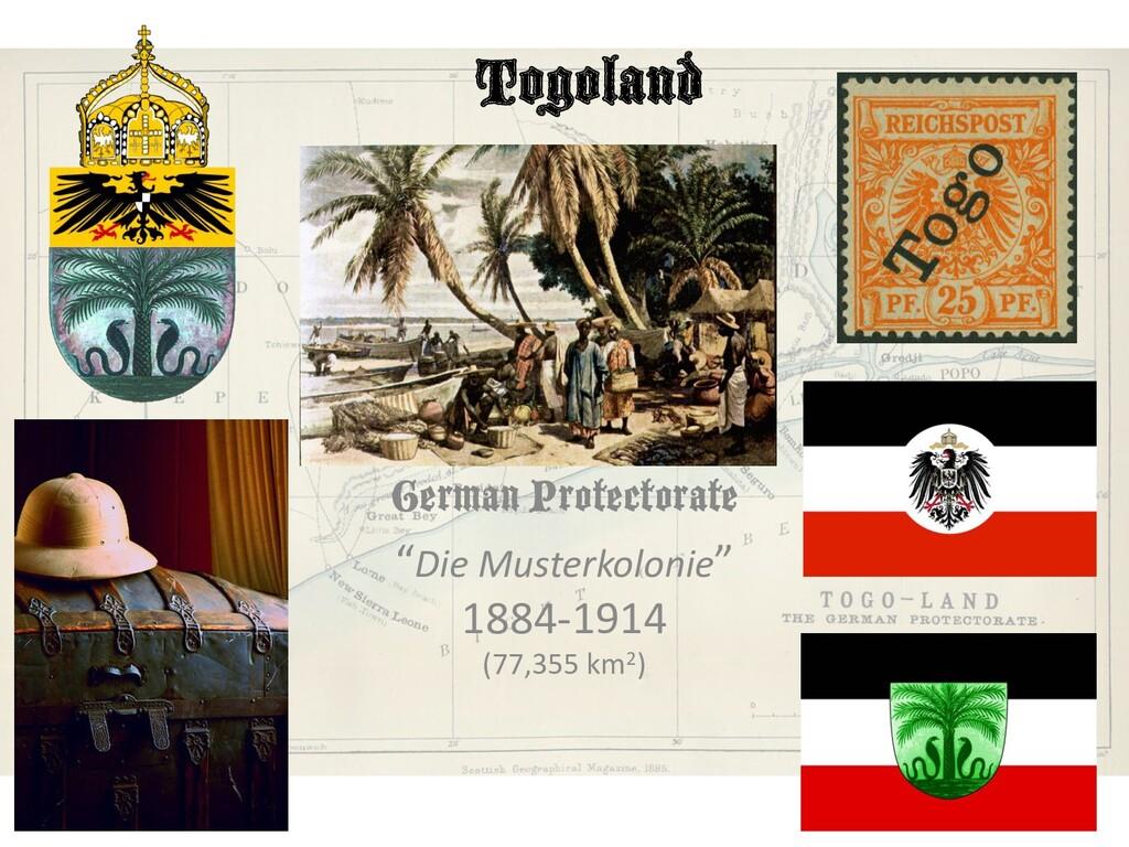 """Togoland German Protectorate """"Die Musterkolonie..."""