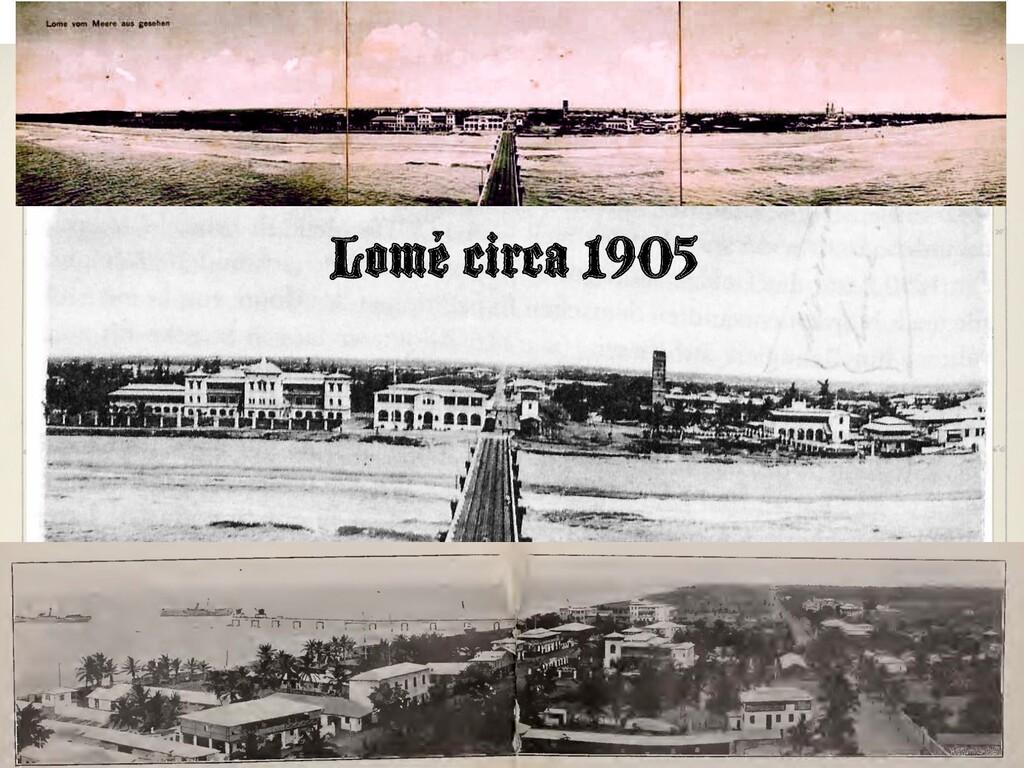 Lomé circa 1905