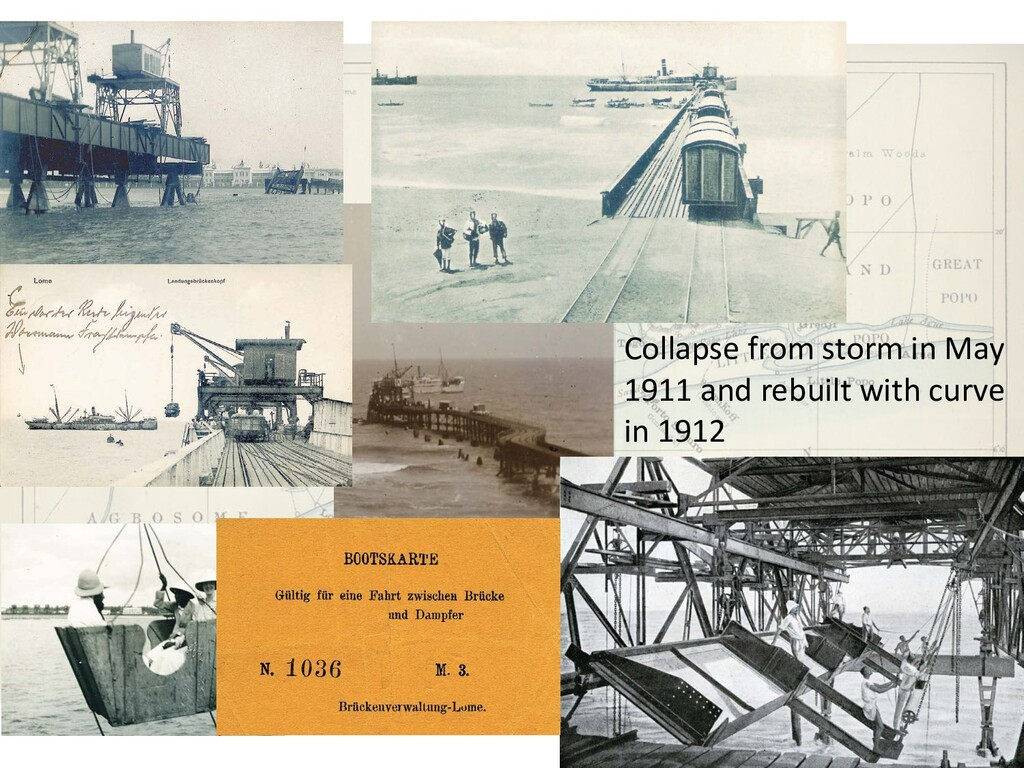Collapse from storm in May 1911 and rebuilt wit...