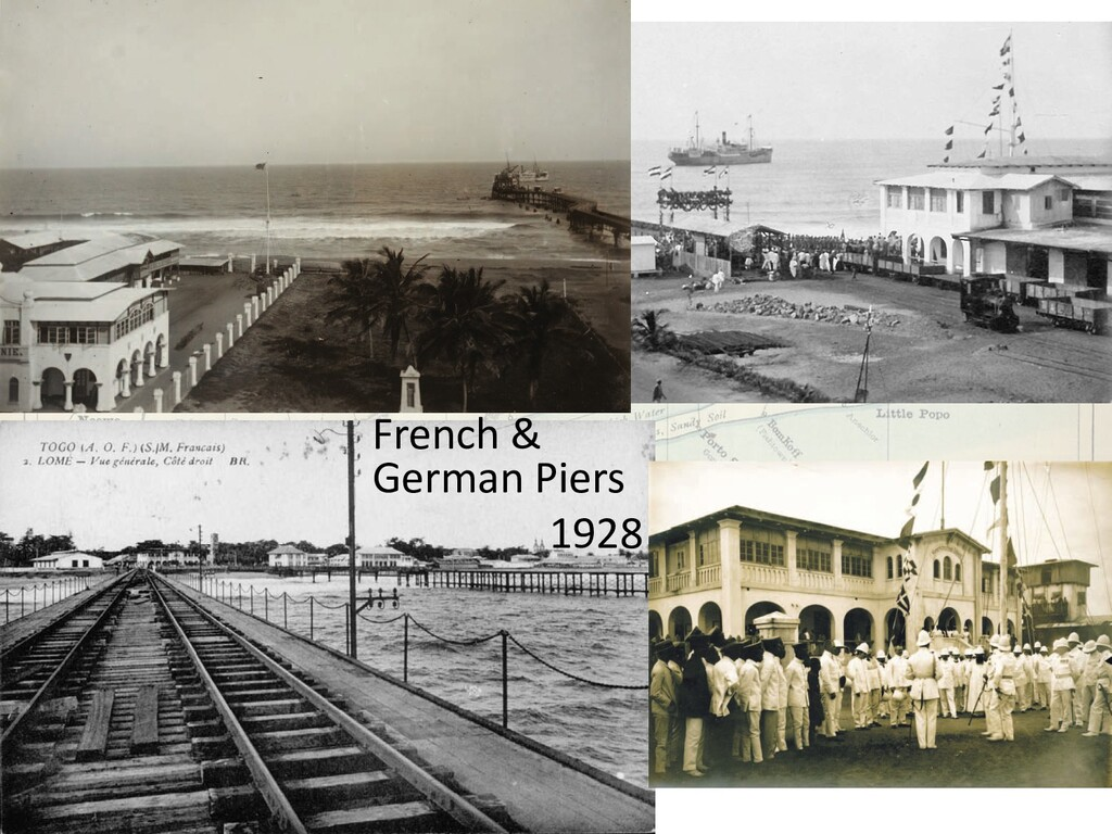French & German Piers 1928
