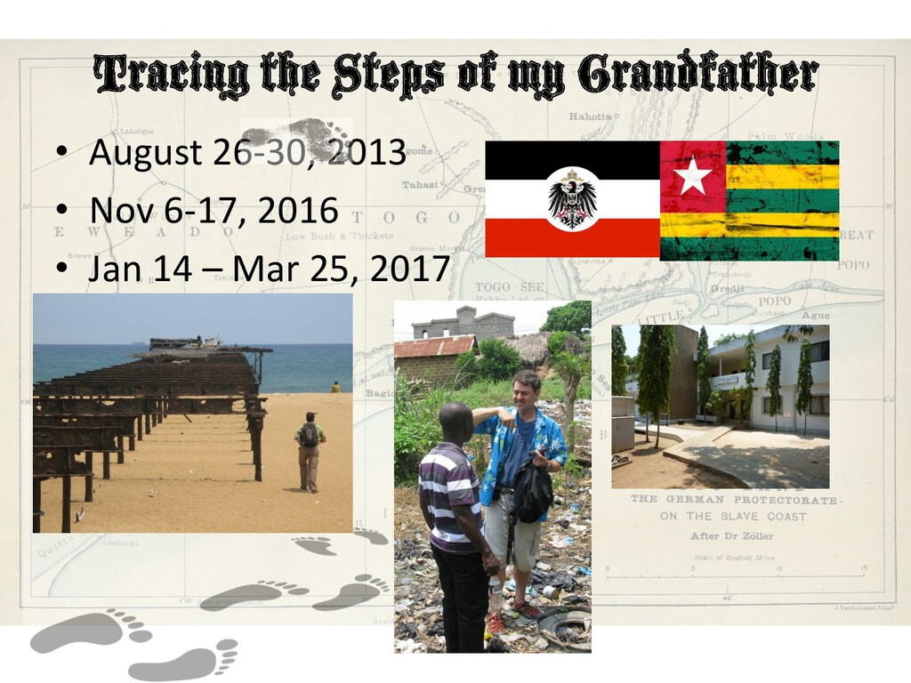 Tracing the Steps of my Grandfather • August 26...