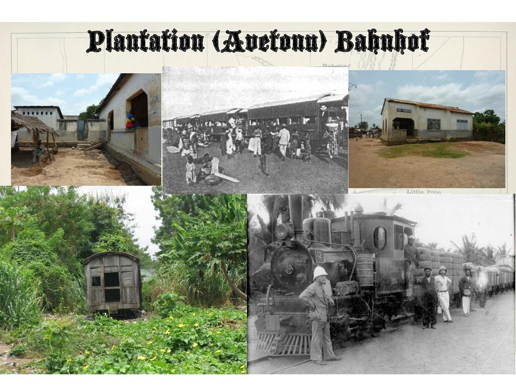 Plantation (Avetonu) Bahnhof • B