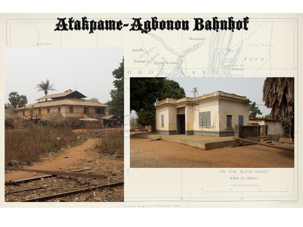 Atakpame-Agbonou Bahnhof