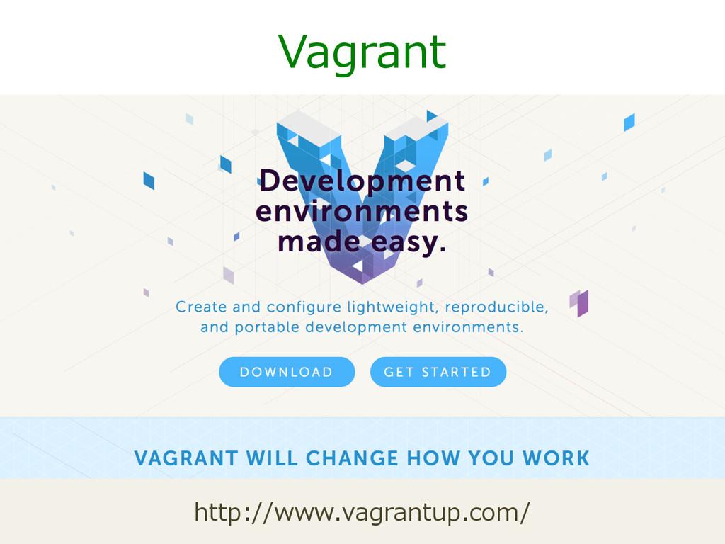Vagrant http://www.vagrantup.com/