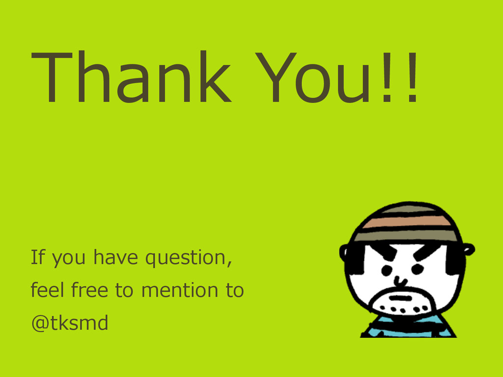 Thank You!! If you have question, feel fre...