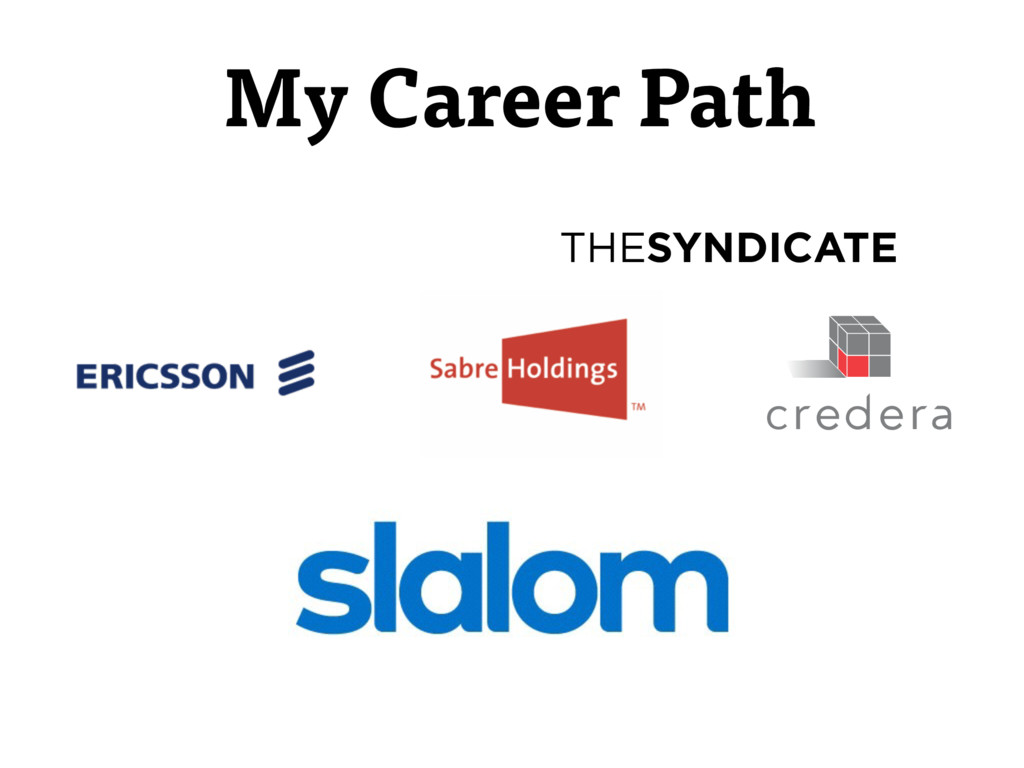 THESYNDICATE My Career Path