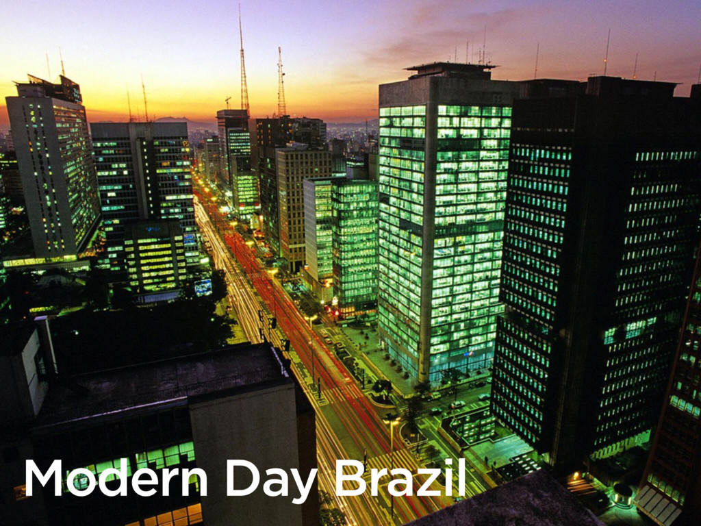 Modern Day Brazil