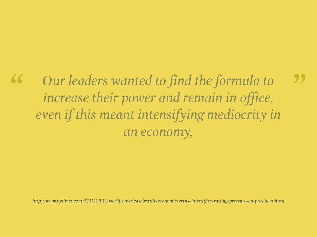 Our leaders wanted to find the formula to incre...