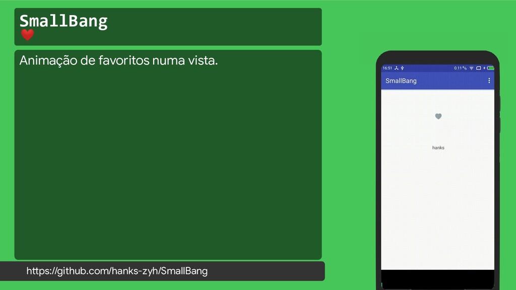 SmallBang ❤ https://github.com/hanks-zyh/SmallB...