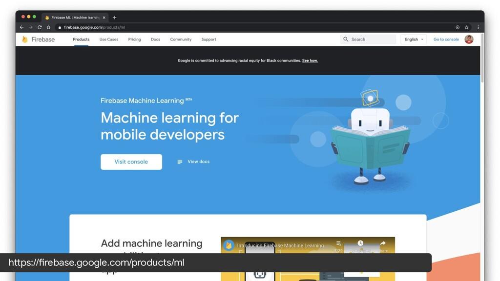 https://firebase.google.com/products/ml