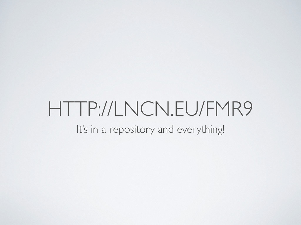 HTTP://LNCN.EU/FMR9 It's in a repository and ev...