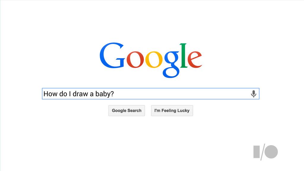 How do I draw a baby?