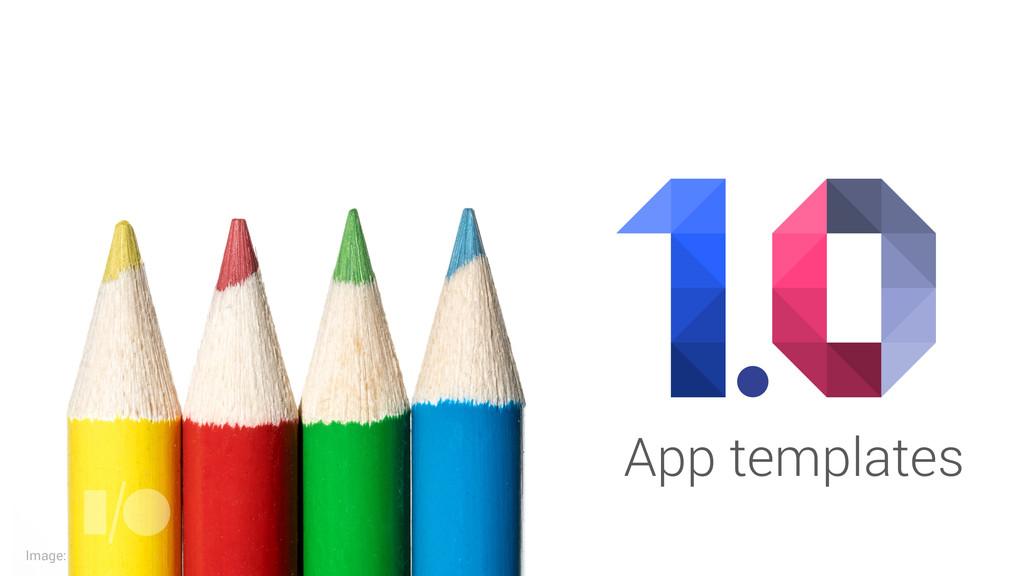 Image: App templates
