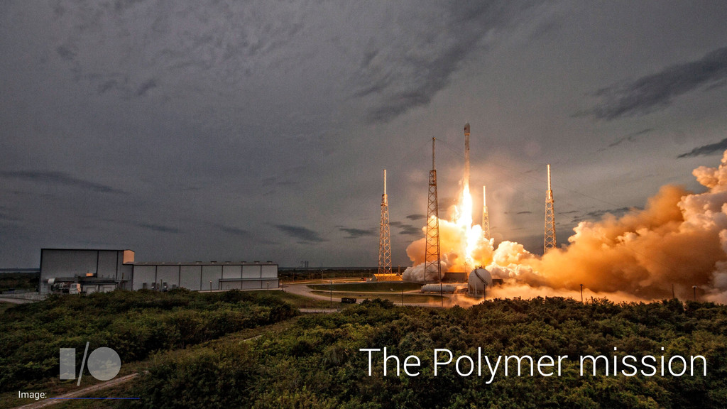 The Polymer mission Image: