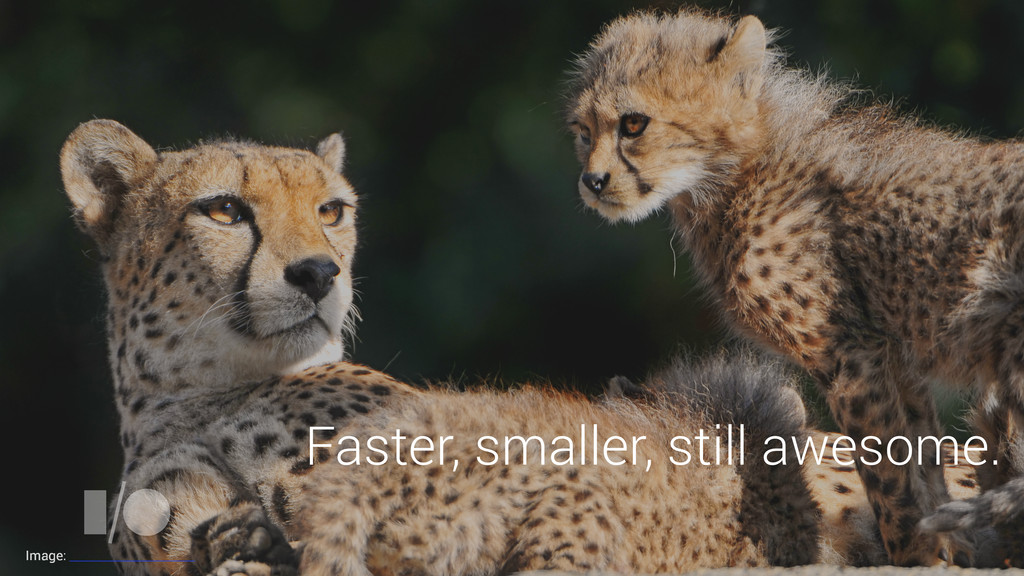 Faster, smaller, still awesome. Image: