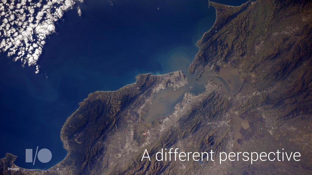 A different perspective Image: