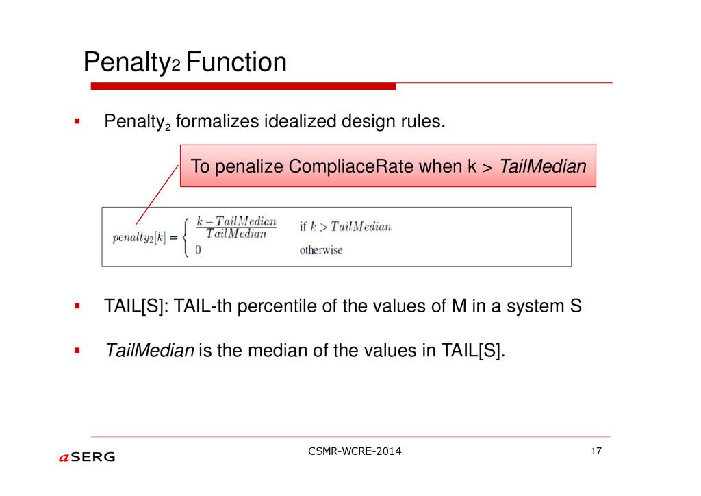 Penalty2 Function Penalty 2 formalizes idealize...