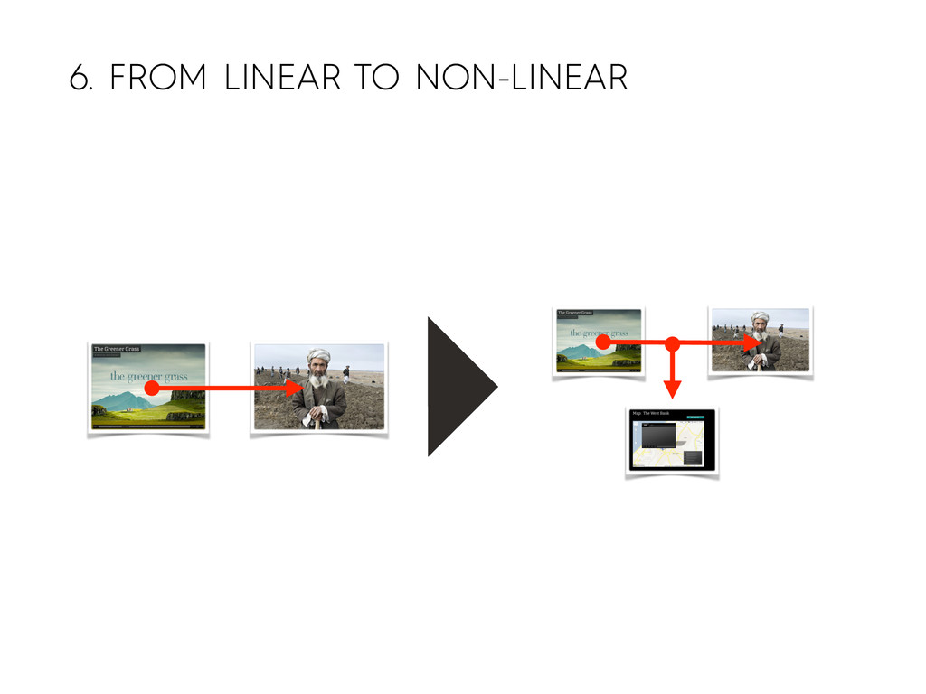 6. FROM LINEAR TO NON-LINEAR
