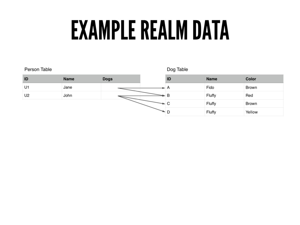 EXAMPLE REALM DATA