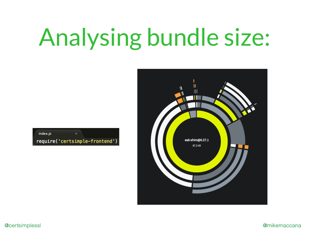 @mikemaccana @certsimplessl Analysing bundle si...