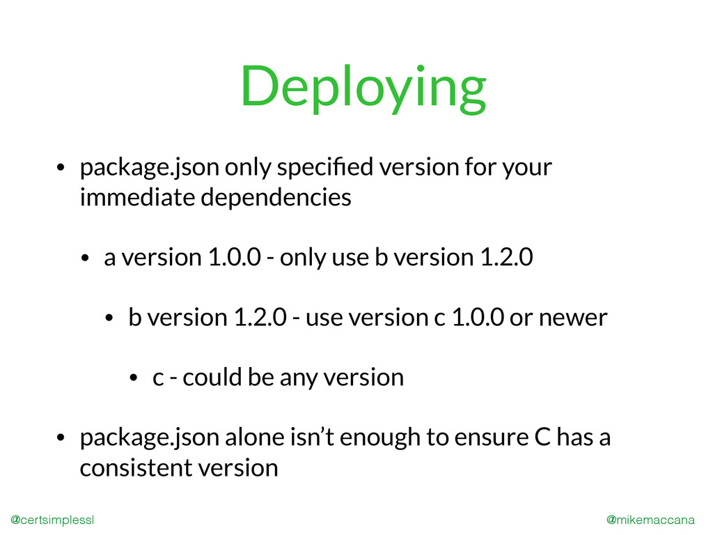 @mikemaccana @certsimplessl Deploying • package...