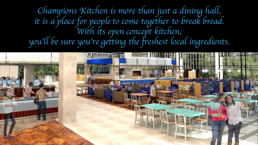 Champions Kitchen is more than just a dining ha...