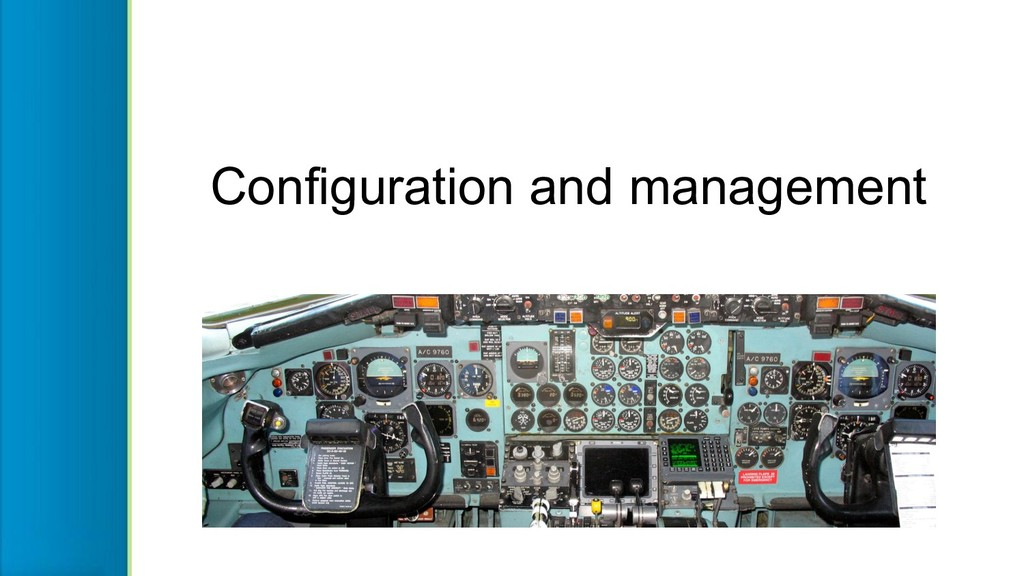 Configuration and management