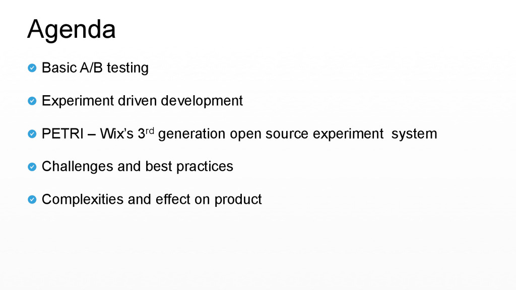 Basic A/B testing   Experiment driven develop...