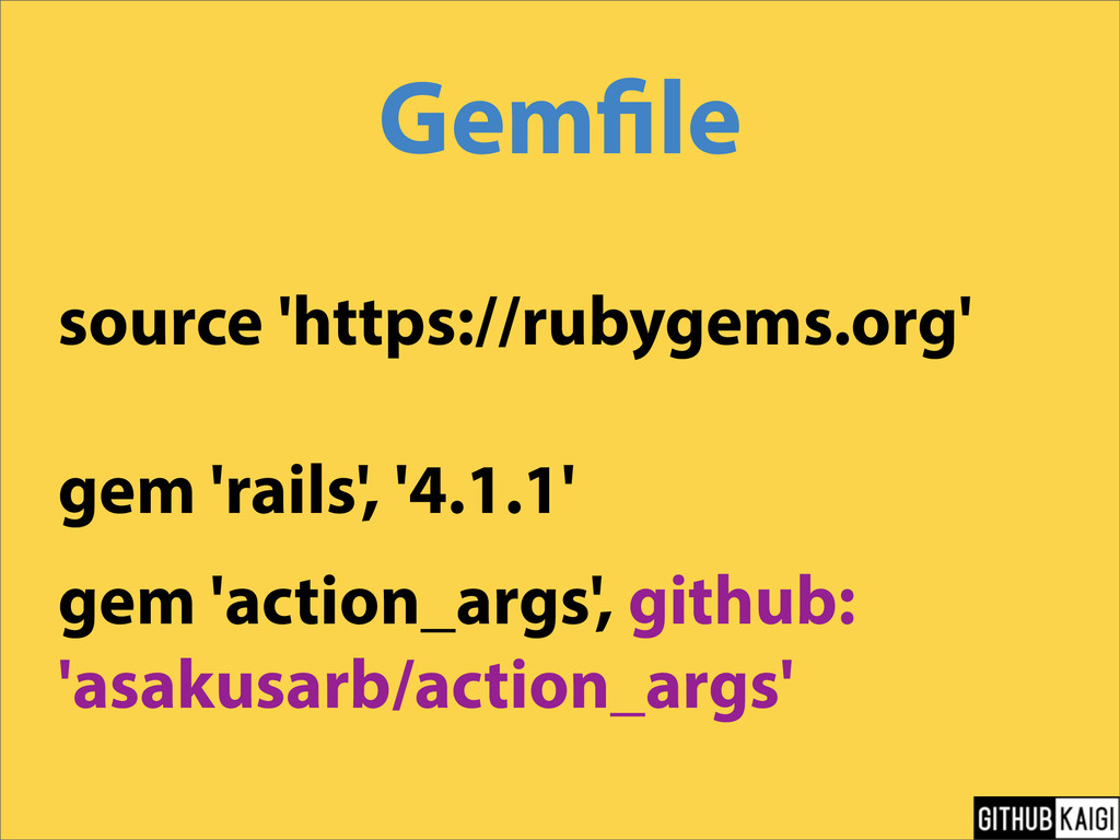 Gem le source 'https://rubygems.org' gem 'rails...