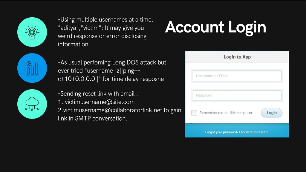 Account Login -Using multiple usernames at a ti...
