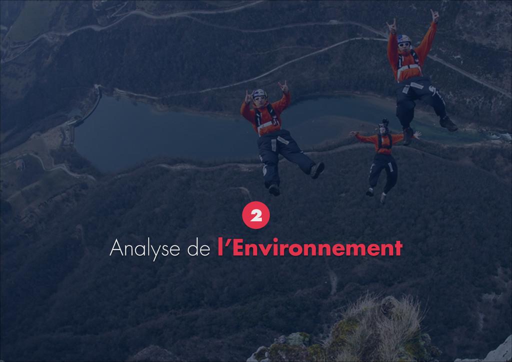 Analyse de l'Environnement 2