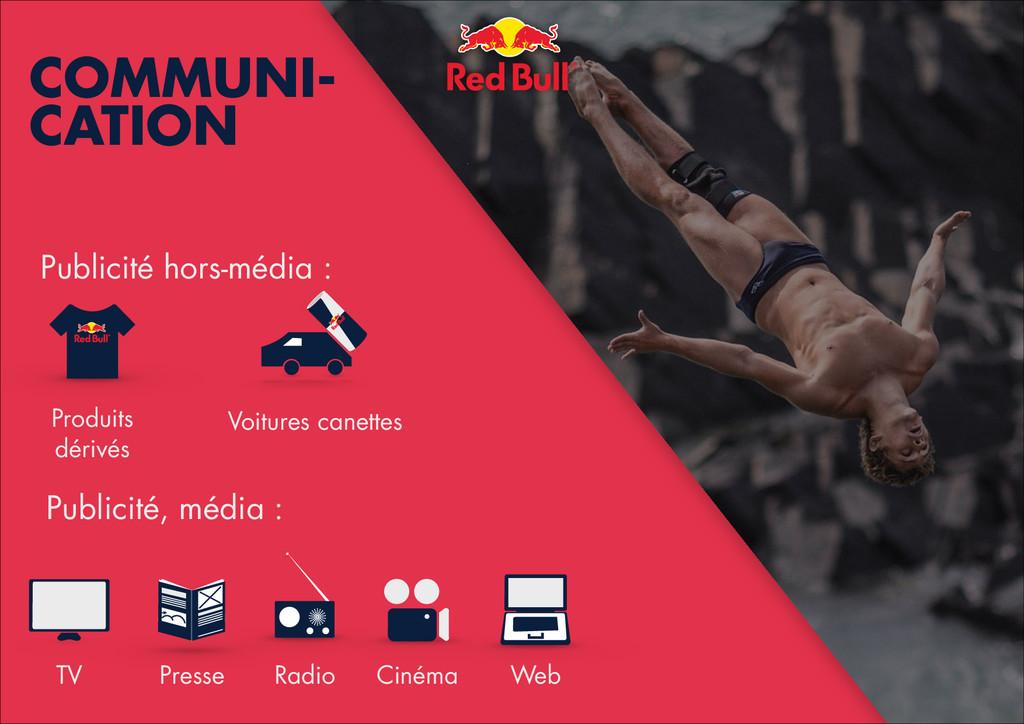 ! COMMUNI- CATION TV Presse Radio Cinéma Web Pr...