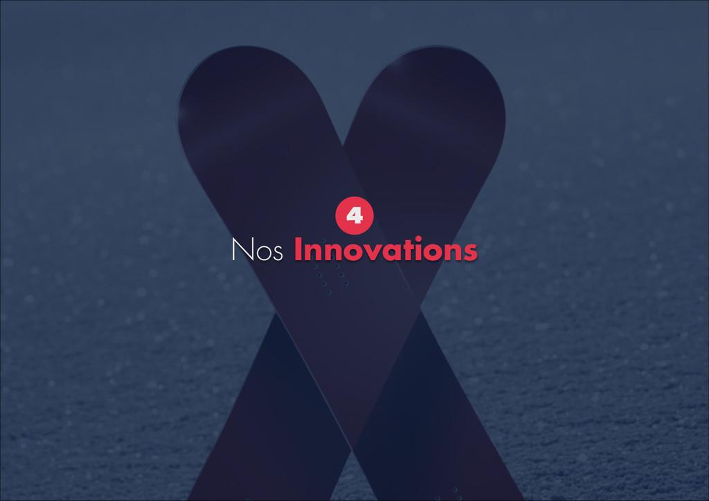 Nos Innovations 4
