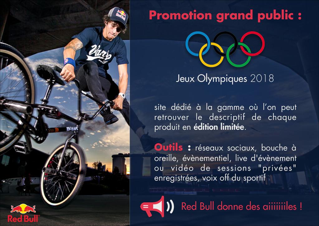 Promotion grand public : Jeux Olympiques 2018 s...