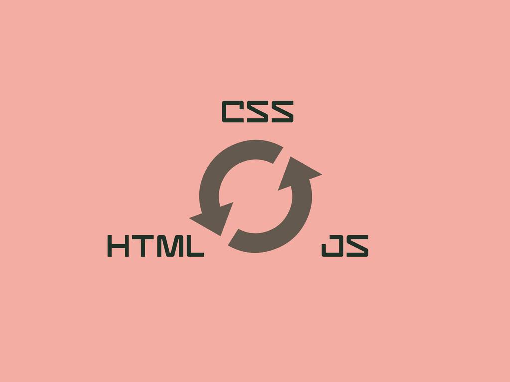 # CSS HTML JS